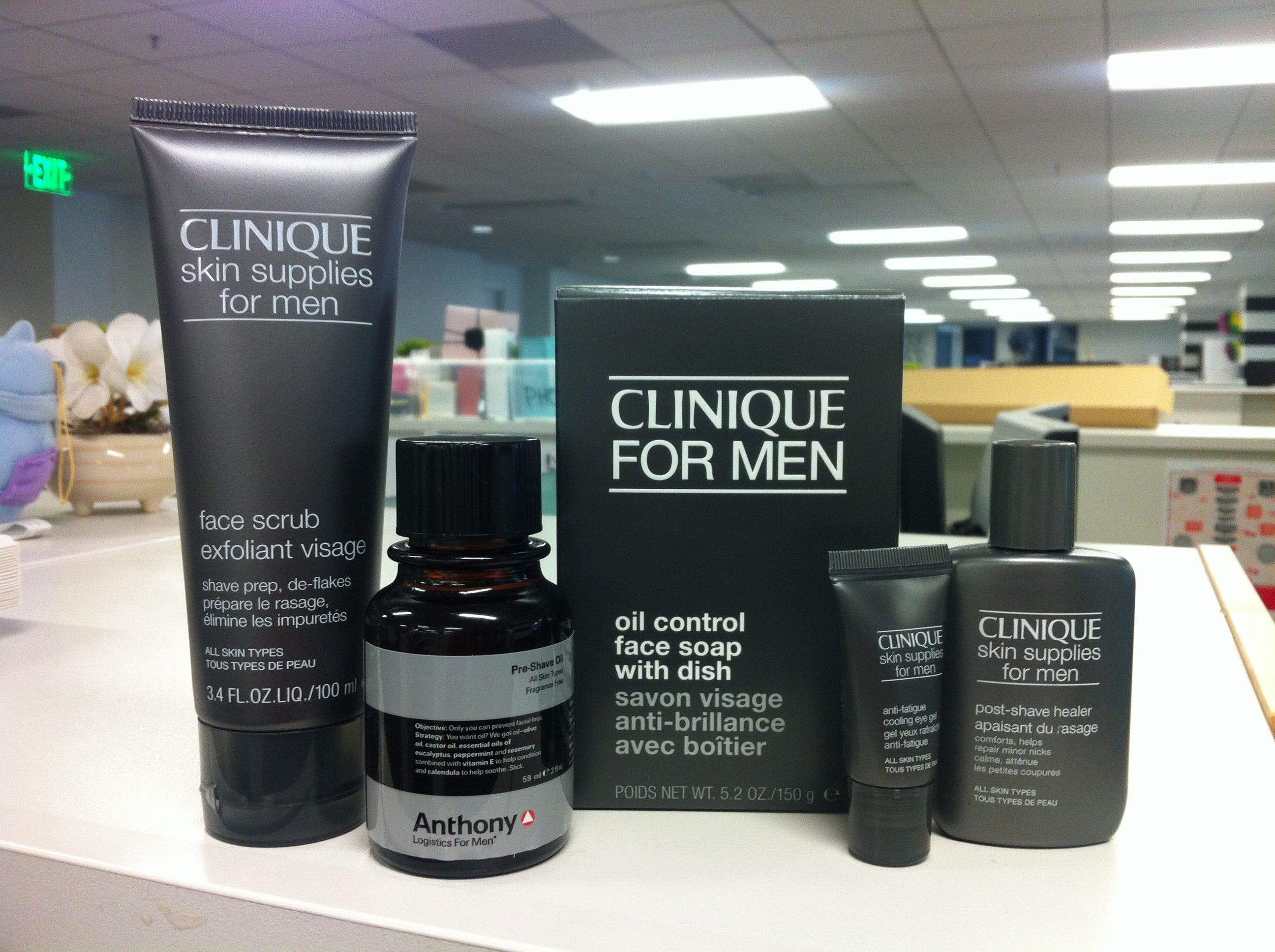 Hot From Sephora Hq Just Got These Clinique Products And Can T Wait To Try Them Plus A Fancy Shave Oil From Anthonylo Clinique For Men Shaving Oil Sephora