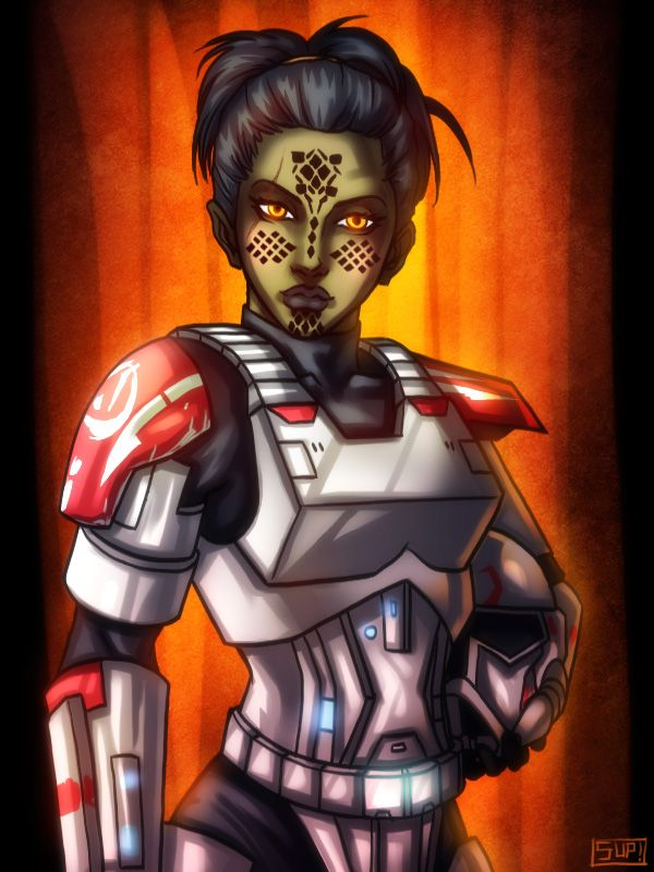Kyoko Imara - Republic Trooper by HausofDye.deviantart.com on @deviantART