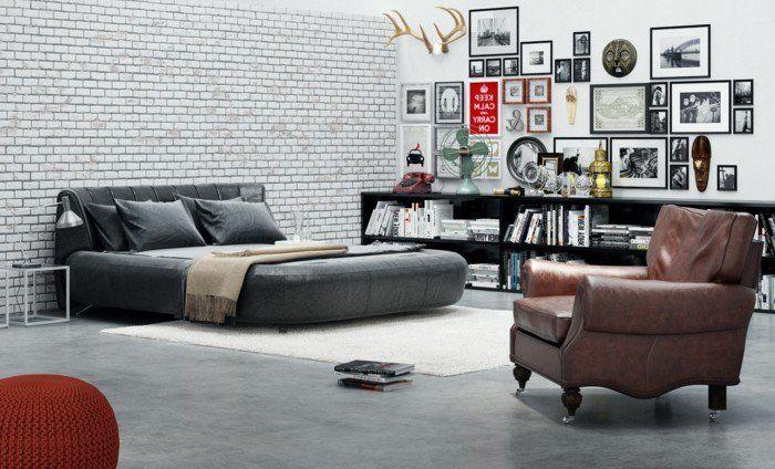 La chambre vintage...60 idées déco très créatives | chambre vintage ...