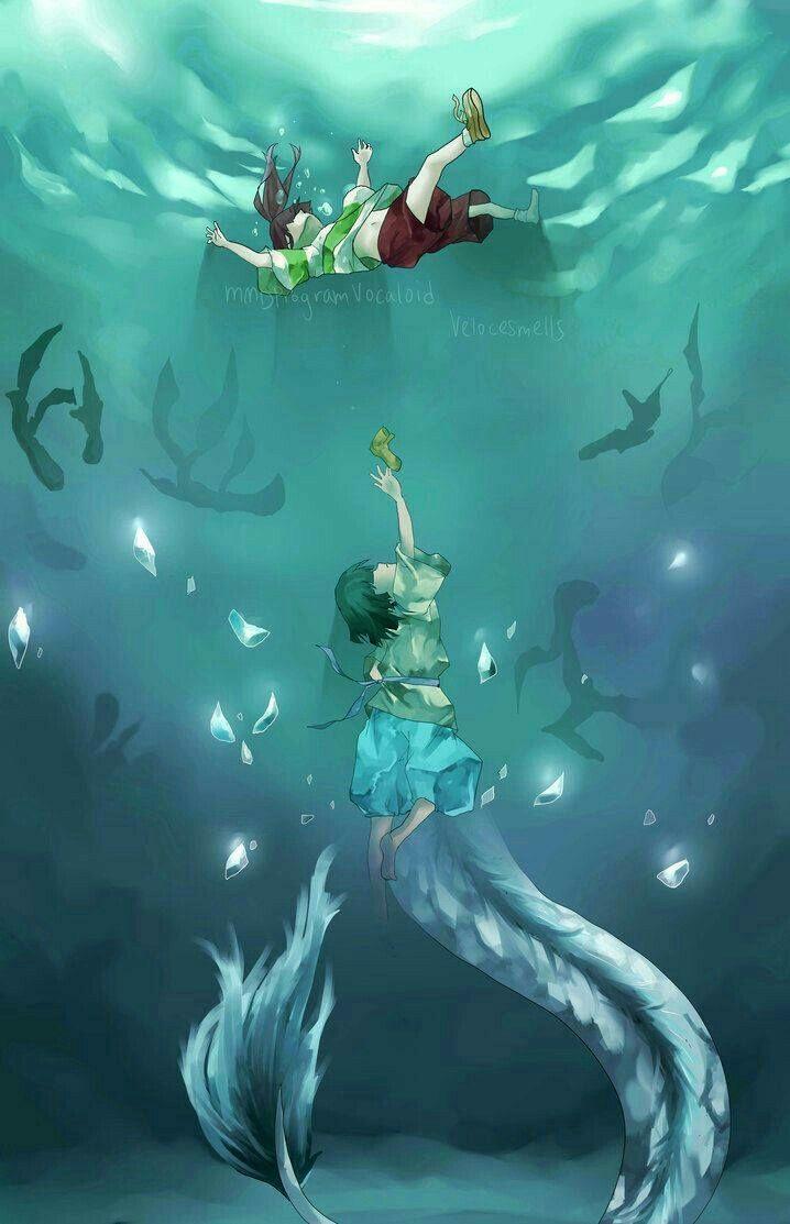 Haku Le Voyage De Chihiro : voyage, chihiro, Ghibli, Voyage, Chihiro, (Spirited, Away), Miyazaki, Ghibli,, Studio, Movies