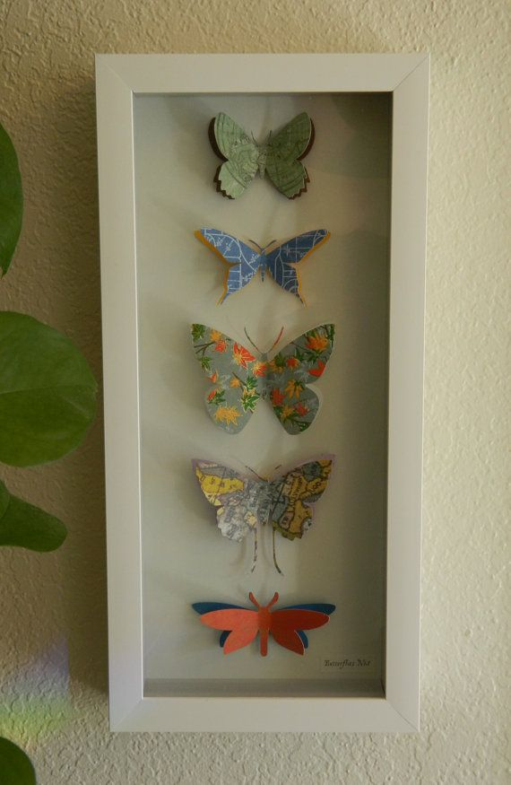 Butterflies No.1 by TyrantKingdom on Etsy, $55.00