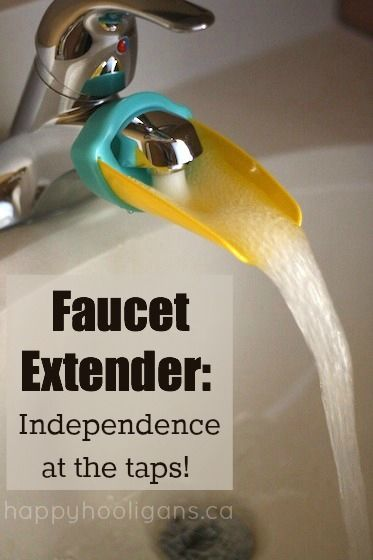 Faucet Extender to Help Kids Reach the Taps | Happy hooligans, Tap ...