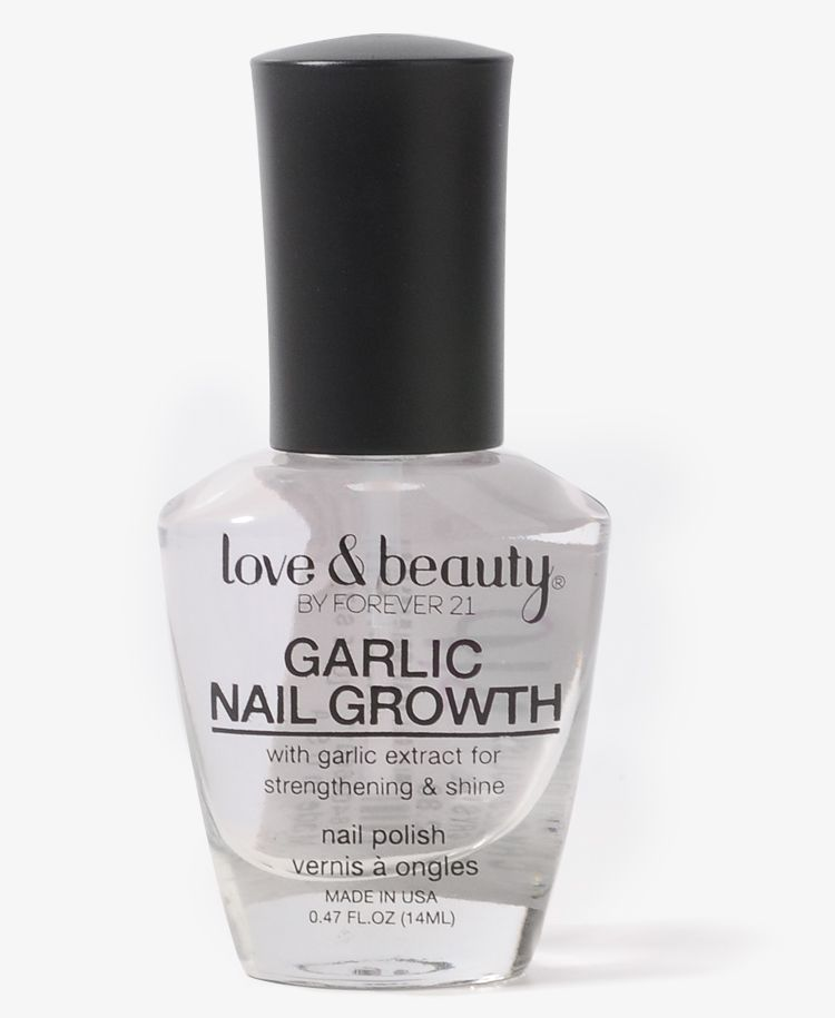 Garlic Nail Growth Polish | FOREVER21 | Body and face homemade ...