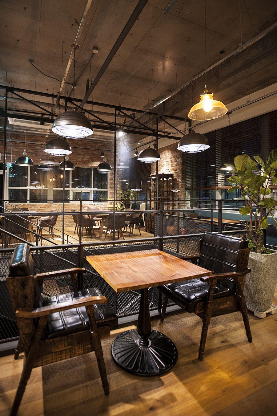 Industrial Interior Design: Laboom Coffee, Café Interior Design, Industrial Design