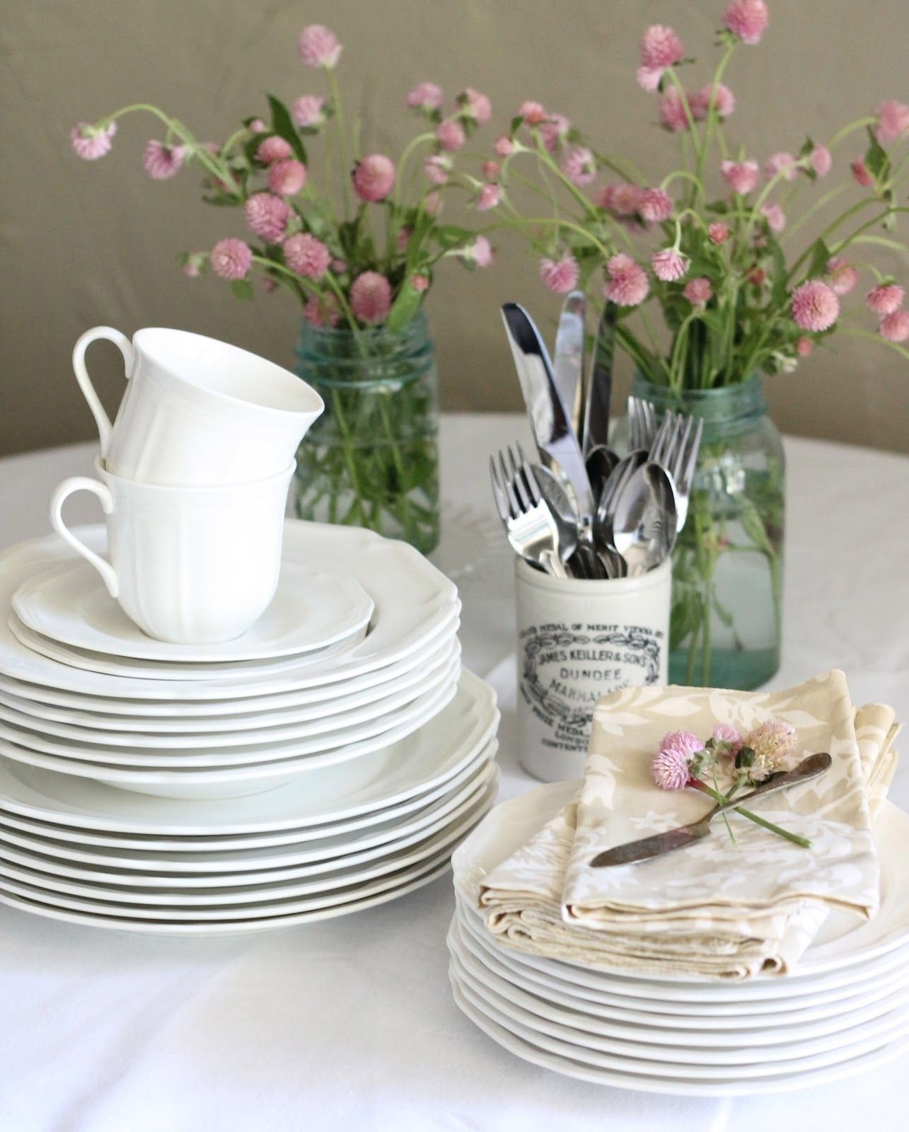 Registry Favorites Our Dishes Mikasa Antique White Dinnerware & The perfect white dishes: Antique White by Mikasa | My Home + Blog ...