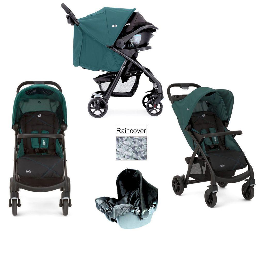 Joie Muze Travel System Universal Pushchair Baby Stroller Juniper