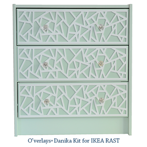 Picture of O'verlay Kit for IKEA RAST (3 drawer)