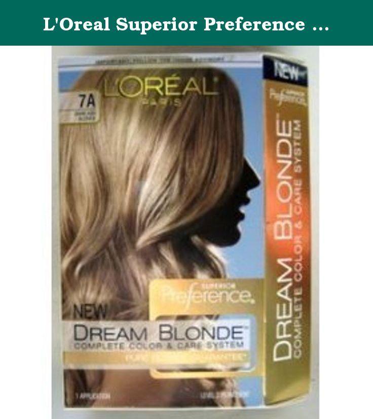 L Oreal Superior Preference Dream Blonde Hair Color 7a Dark Ash