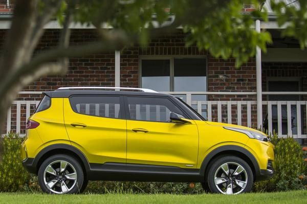 Official Photos Of Thew New Chevrolet Adra Compact Suv Photo