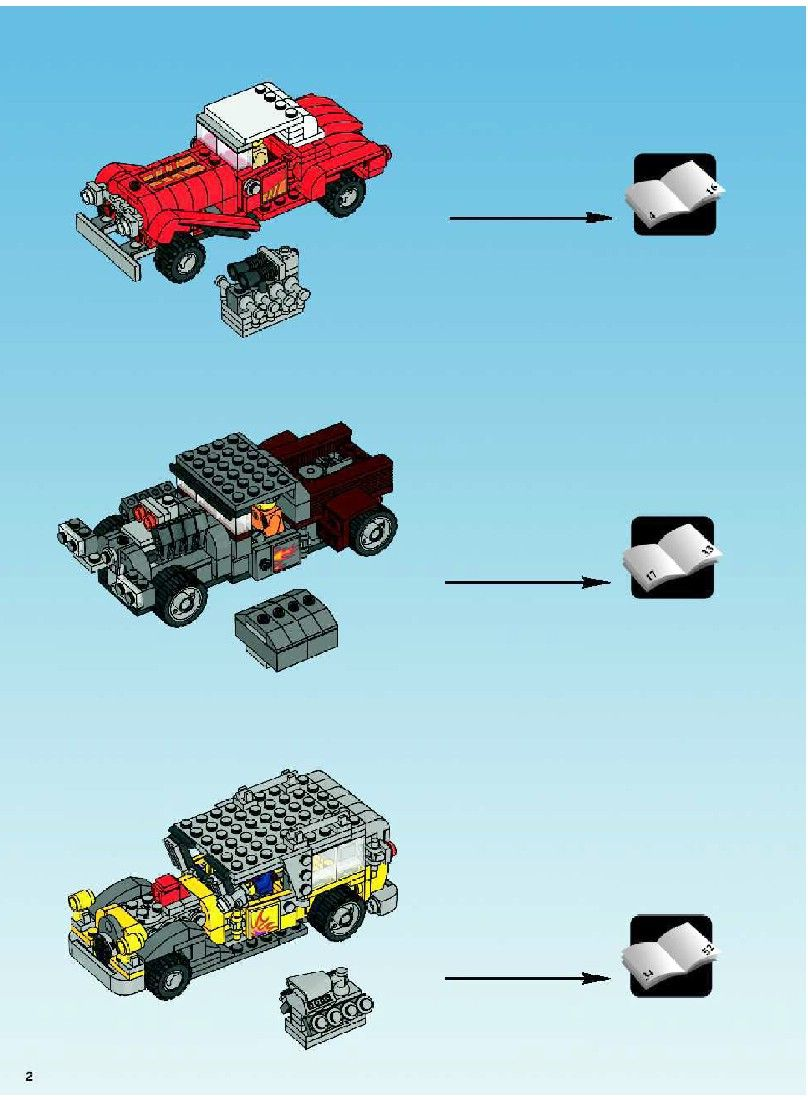 how to build a lego garage
