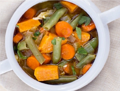 Haylie's Warrior Soup in 2020 Soup cleanse, Food, Fast