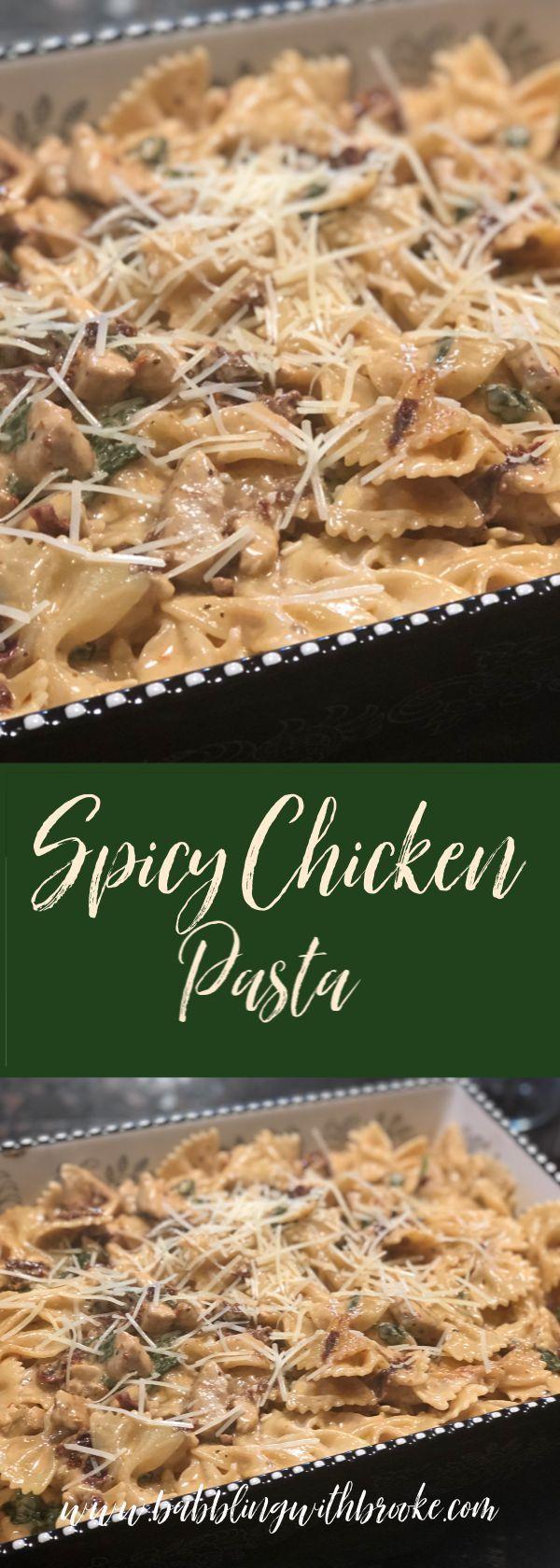 Spicy Chicken Pasta images