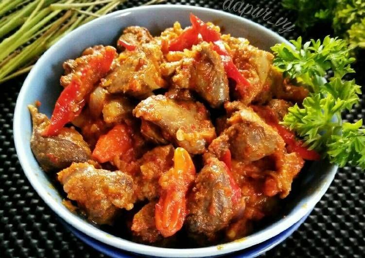 Resep Sambel Goreng Ati Ampela Cirebonan Oleh Dapurvy Resep Makanan Resep Makanan Resep Masakan Indonesia
