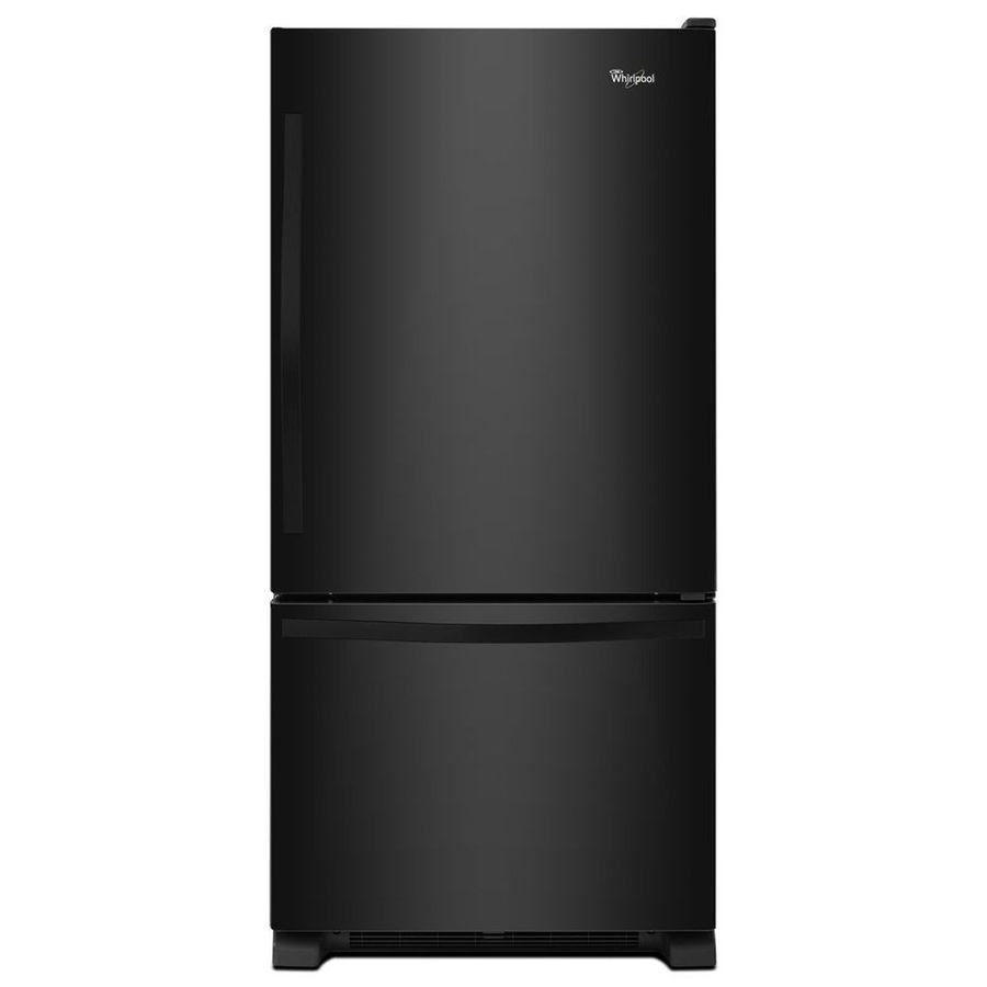Whirlpool 22 07 Cu Ft Bottom Freezer Refrigerator With Single Ice Maker
