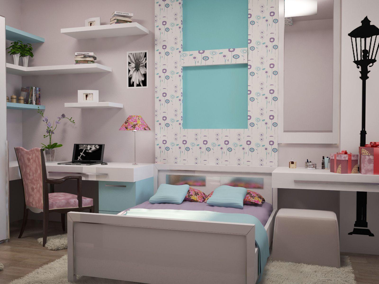 Bedroom Girl Quartos Pinterest Quartos Quarto Juvenil E  ~ Quarto Juvenil Menina Com Caixote De Feira Quarto