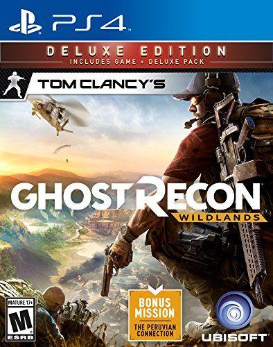 3 Tom Clancy S Ghost Recon Wildlands Deluxe Edition Playstation