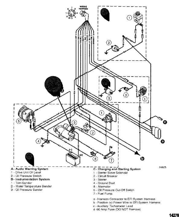 Mercruiser 140 Engine Wiring Diagram and Ignition Wiring ...