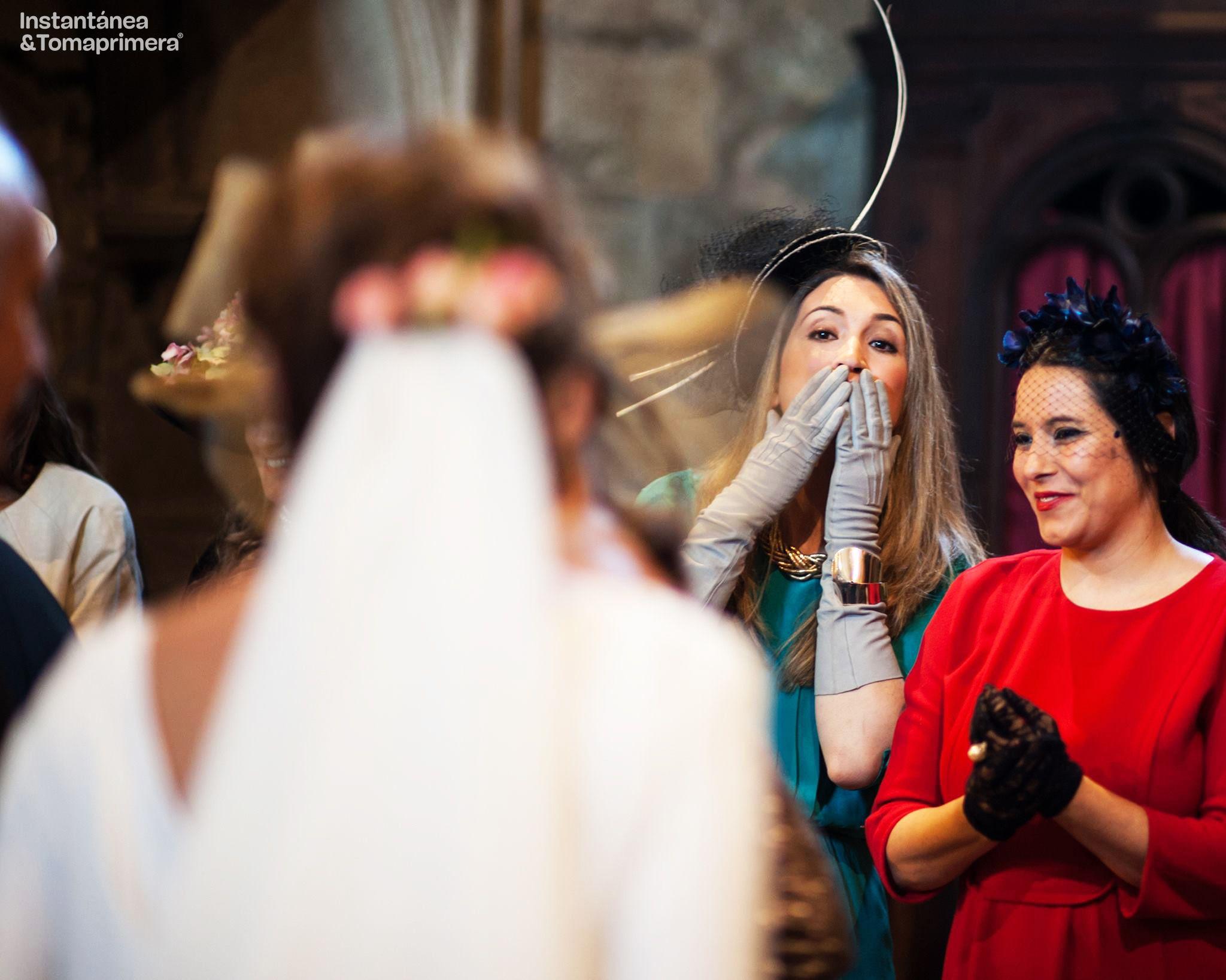 © Instantánea y Tomaprimera. Fotografía de boda.