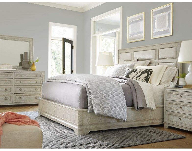 Elegant California Malibu Queen 4 PC Bedroom Group | Universal Furniture | Star  Furniture | Houston