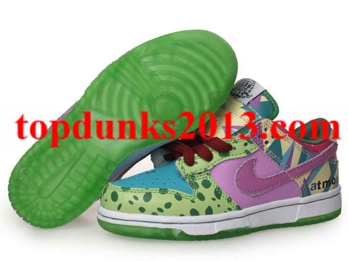 Genuine Low Atmos Project 312786 131 Nike Dunk Kids