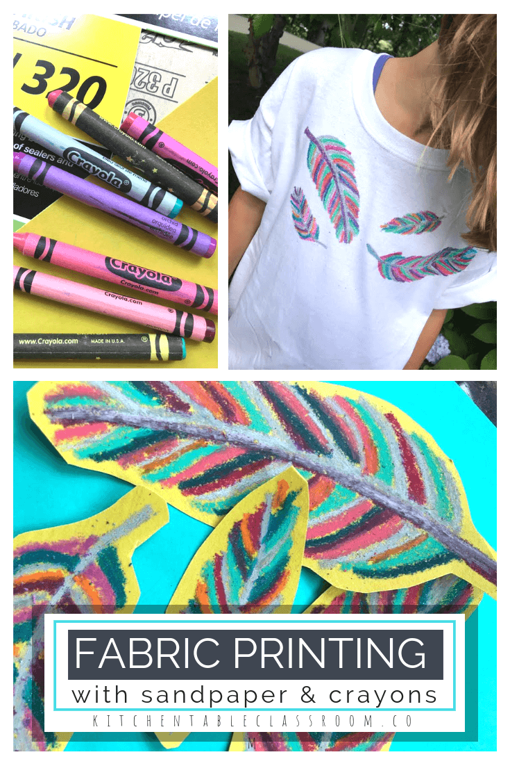 Watch How To Make Crayon Prints On A T-Shirt video