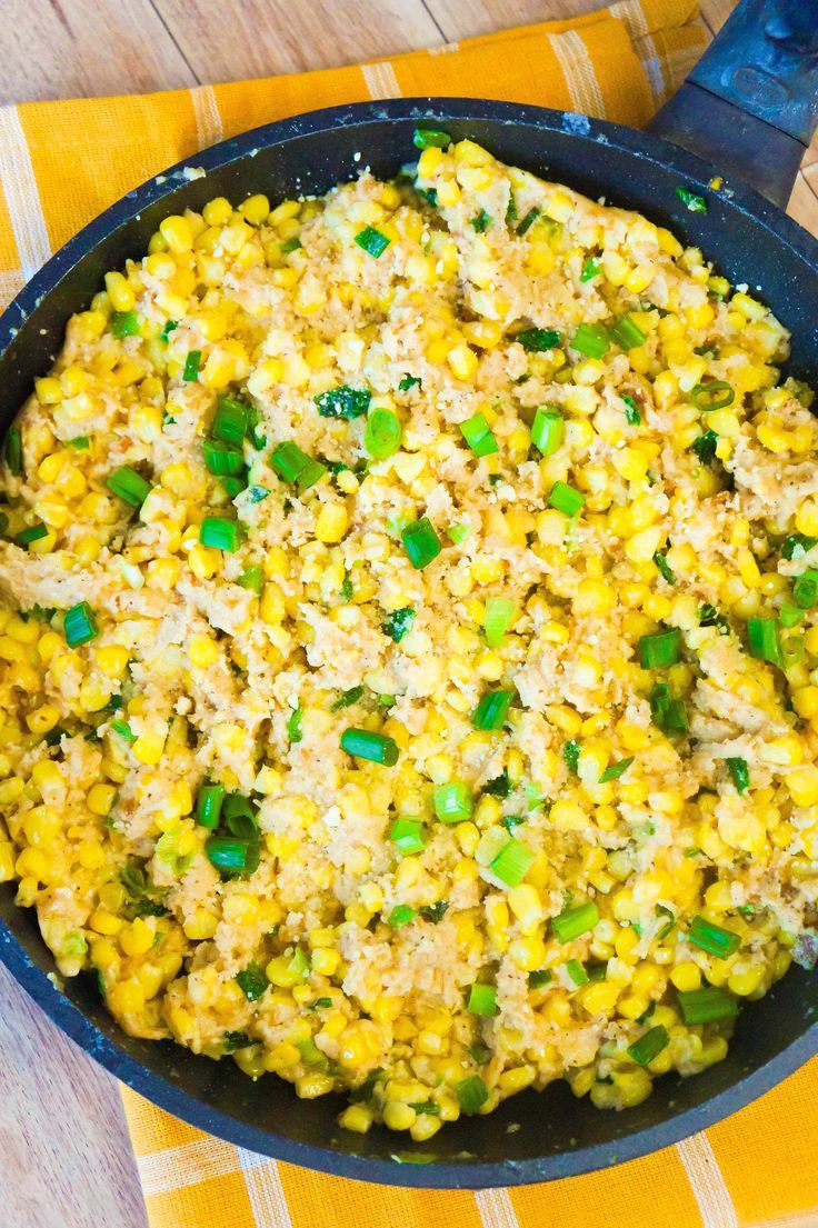 Cheesy ritz cracker corn is an easy side dish perfect for