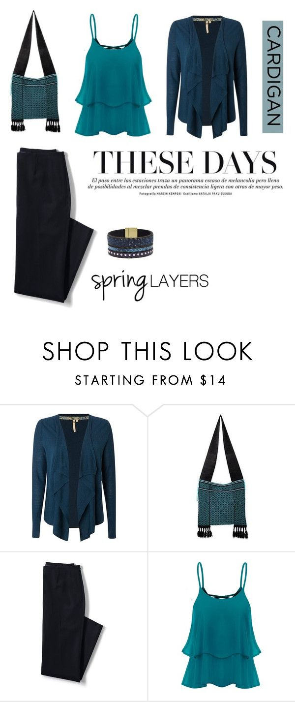 """""""Cute Spring Cardis"""" by stephicidal ❤ liked on Polyvore featuring White Stuff, NOVICA, Lands' End, Elise M., cutecardigan and springlayers"""