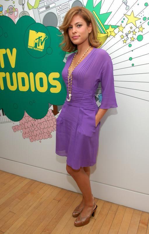 Two Fabulous Purple Dresses - www.fabsugar.com