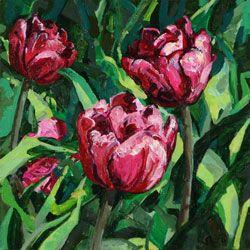 kukka maalaus