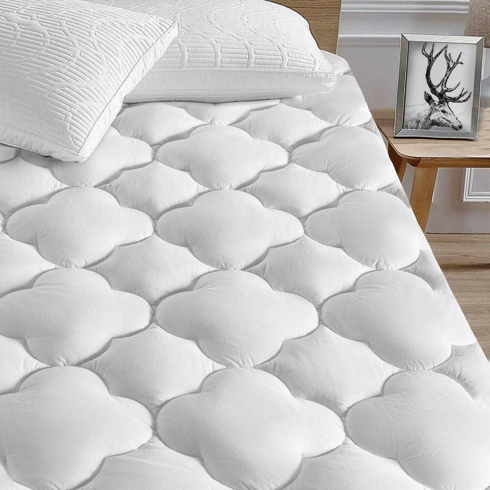 Serwall Queen Mattress Pad Cover Cooling Mattress 8 21 Deep