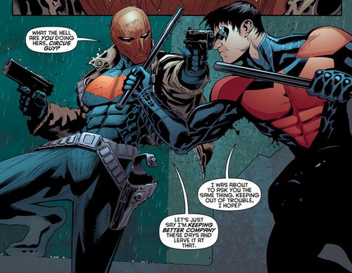 Red Hood & Nightwing - Batman & Robin #10 | DC | Just ... Nightwing And Red Robin