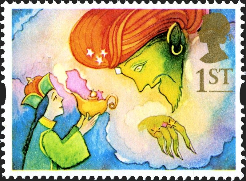 Royal mail special stamps greetings stamps giving aladdin and the royal mail special stamps greetings stamps giving aladdin and the genie m4hsunfo