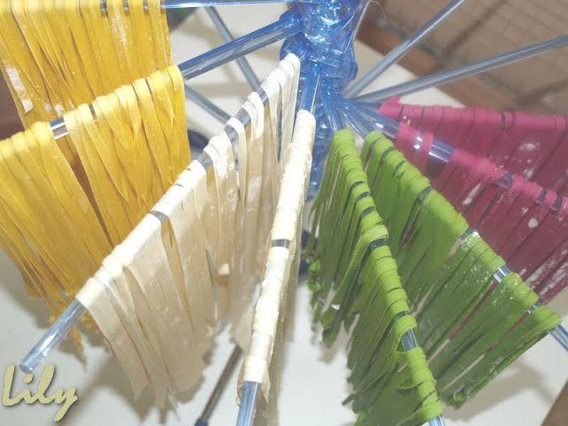 Deliciós Mos: PASTA FRESCA de COLORES con COLORANTES NATURALES (pas ...