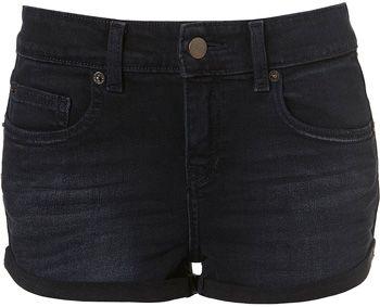 black jean shorts womens
