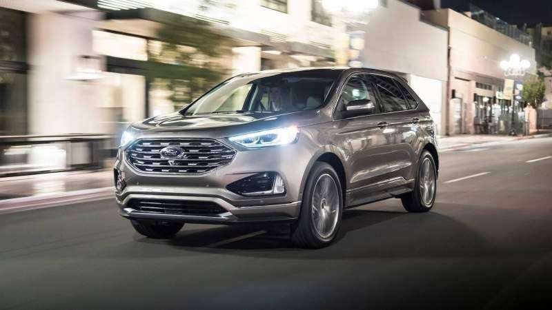 2020 Ford Edge Redesign St And Sport Model Release Date Ford