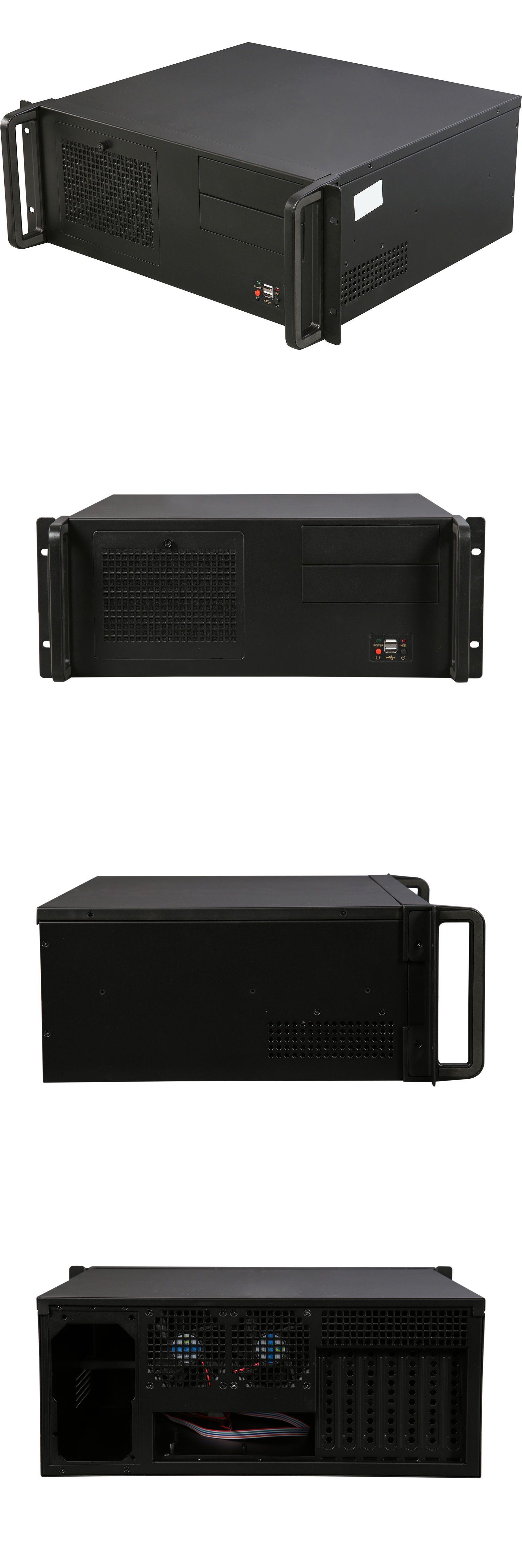 Rosewill Rsv R4100 4u Rackmount Server Case 8 Internal Bays Includes 2 Fans Computer Case Best Computer Case