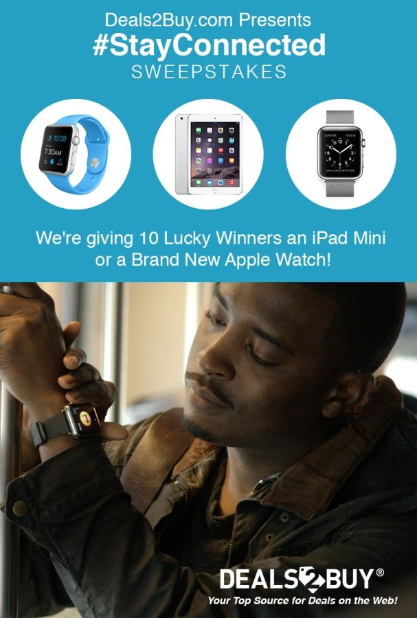My Mobile Sweeps 5 29 15 Enter To Win An Ipad Or Apple Smartwatch W Deals2buy Spon Wearables Giveaway Fitness Sweepstakes New Apple Watch Ipad Mini