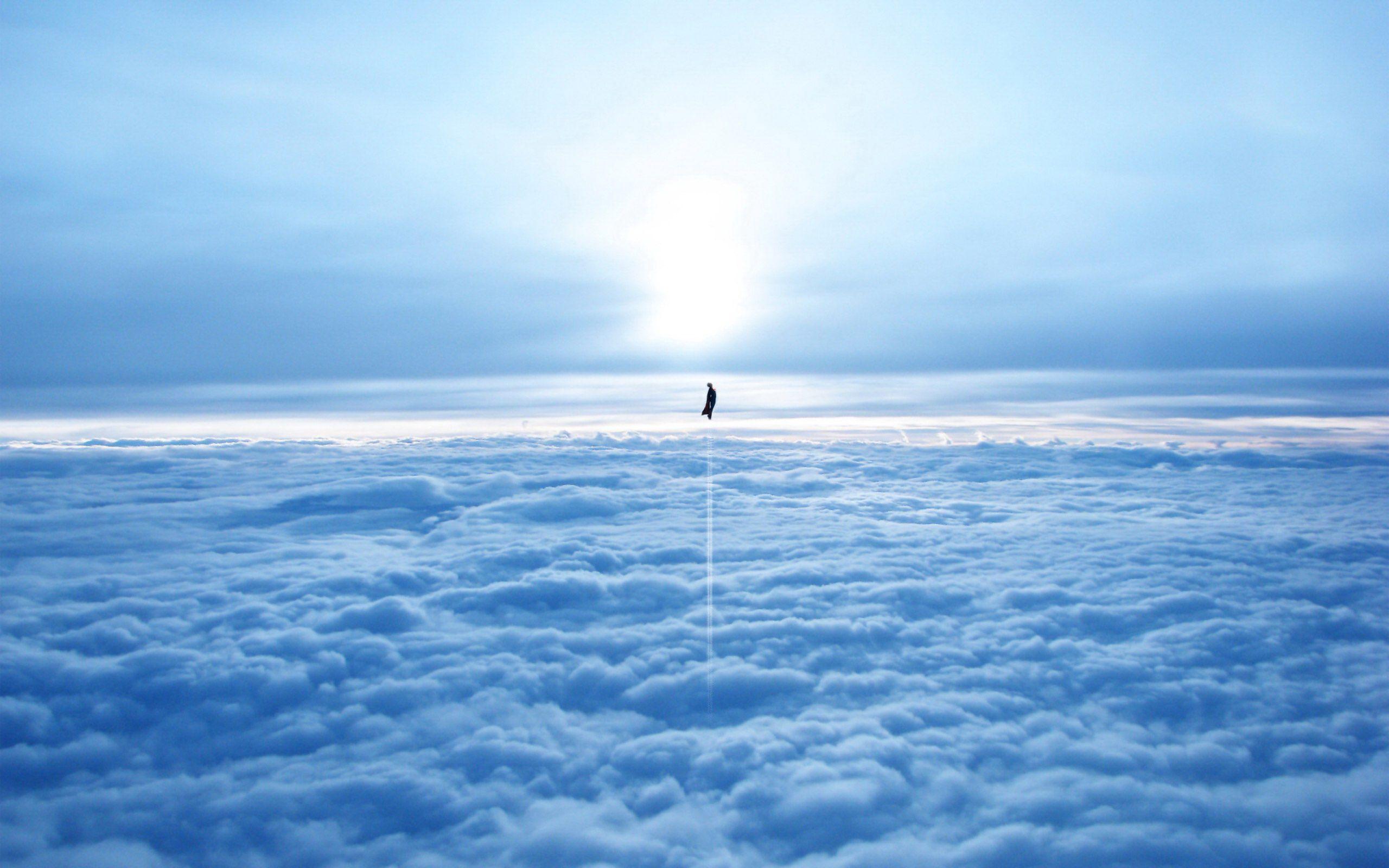 The Subtle Man Of Steel Heaven Wallpaper World Mythology Clouds