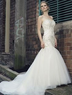 beaded mermaid henry roth dress Google Search Wedding Ideas
