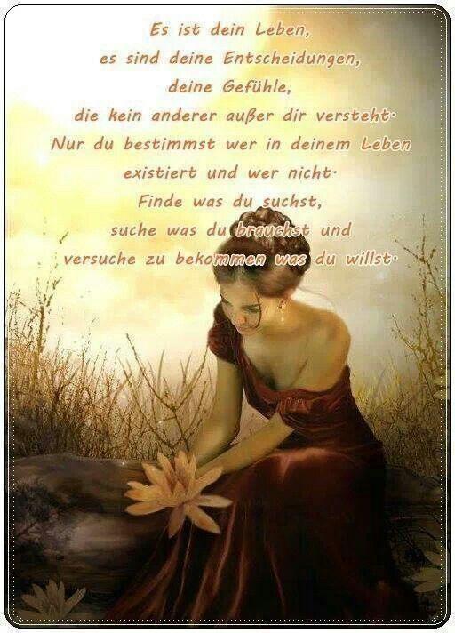 Gefühle Gedanken Und Gedichte Sprüche Sprüche Zitate Und