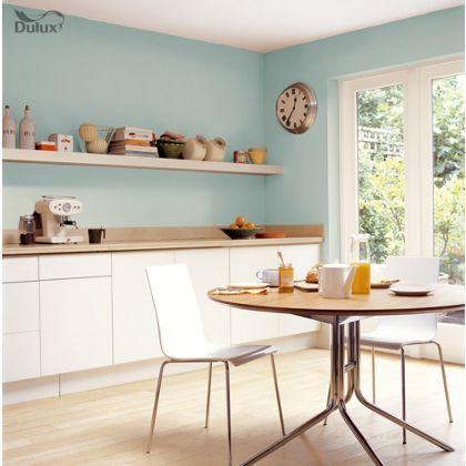 Dulux Kitchen Mint Macaroon Matt Emulsion Paint 25L at