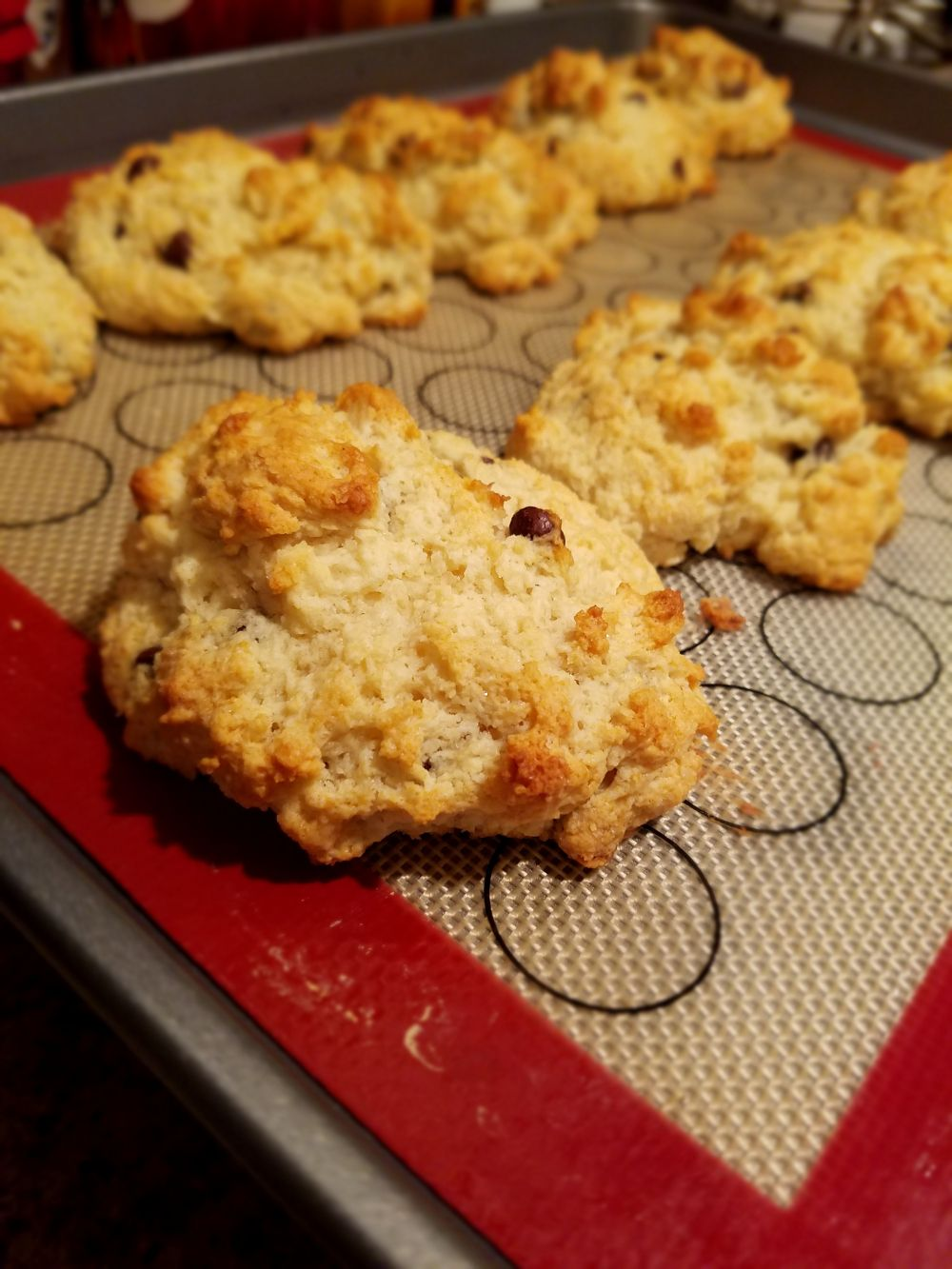 Trader Joe's Chocolate Chip Scone Mix Review   Trader Joes Product ...