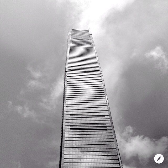 With 118 floors the tallest building in Hong Kong. #ICC #HongKong #China #architecture #GILBANOtravel #skyscraper
