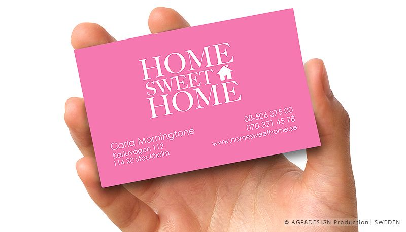 PRINT | Business card. Logotype. Illustratuin - Graphics | ☆ Home Sweet Home ☆