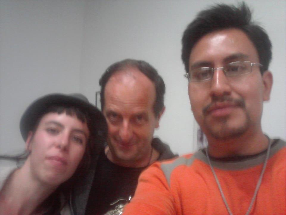 con el maestro Antonio Alvarez Morán.