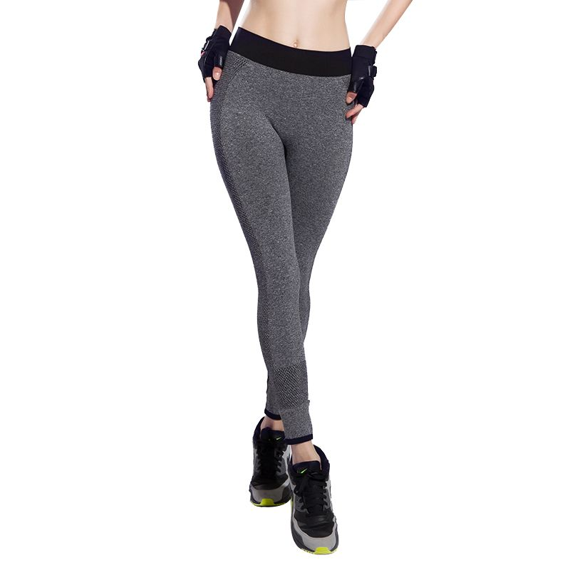 55bfc42df26 Fashion Professional Women Yoga Pants High Elasticity Sports Trousers High  Waist Fitness Running Slimming Bodybuilding Trousers