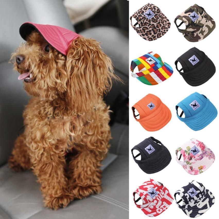 Doggy Cap Great Ideas Dog Hat Unique Dog Collars Summer Dog