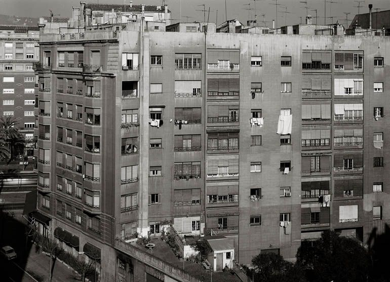 Manolo Laguillo 'Diagonal/Villarroel' 1980
