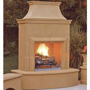 Outdoor Fireplace Outdoor Gas Fireplace Concrete Outdoor