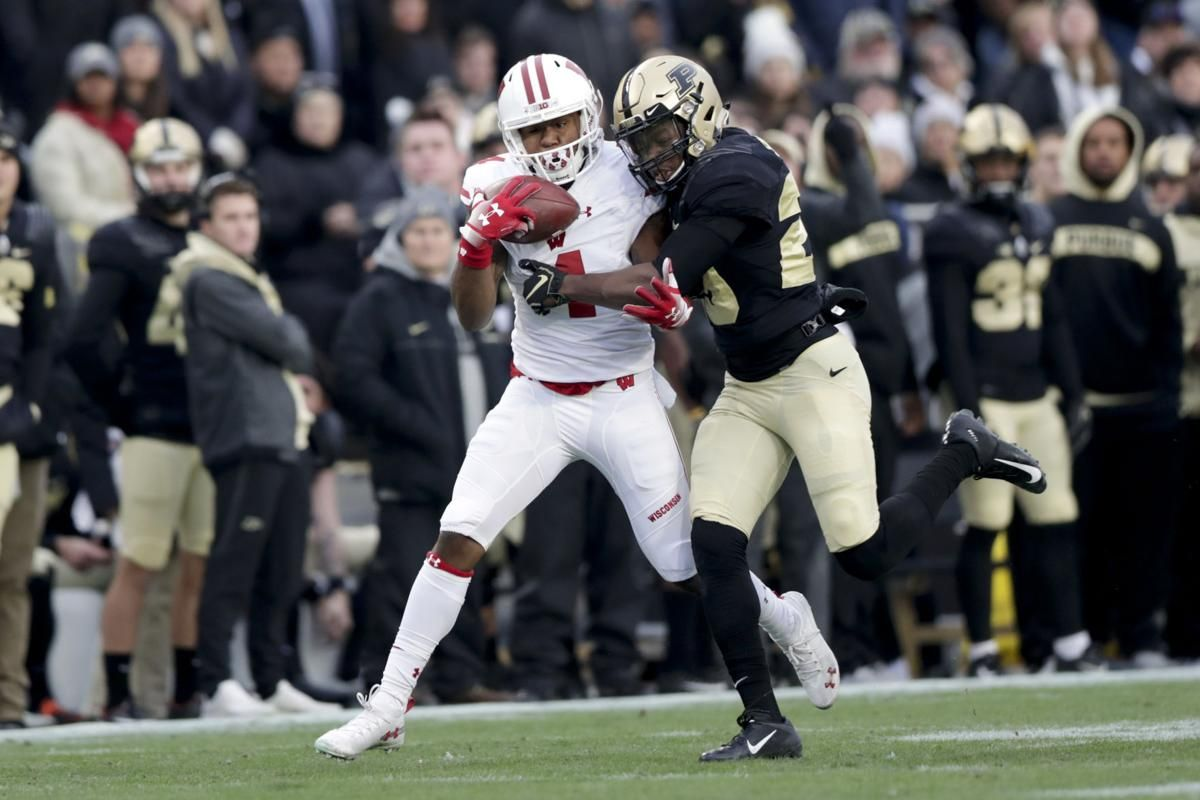 Wisconsin celebrates Taylormade OT victory at Purdue